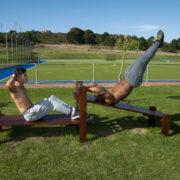 Sit Ups & Leg Raises